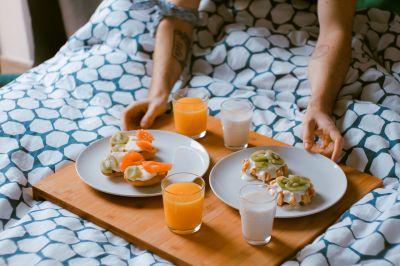 Moederdag ontbijt op bed