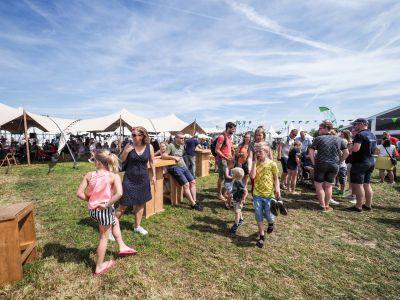 Zondagmiddag terrein strandheem-festival 2019