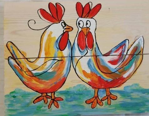 Verwonderend Workshop Schilderen op hout - Workshop / cursus - Agenda - In Het OO-43