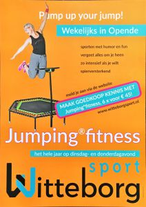 Jumping fitness opende