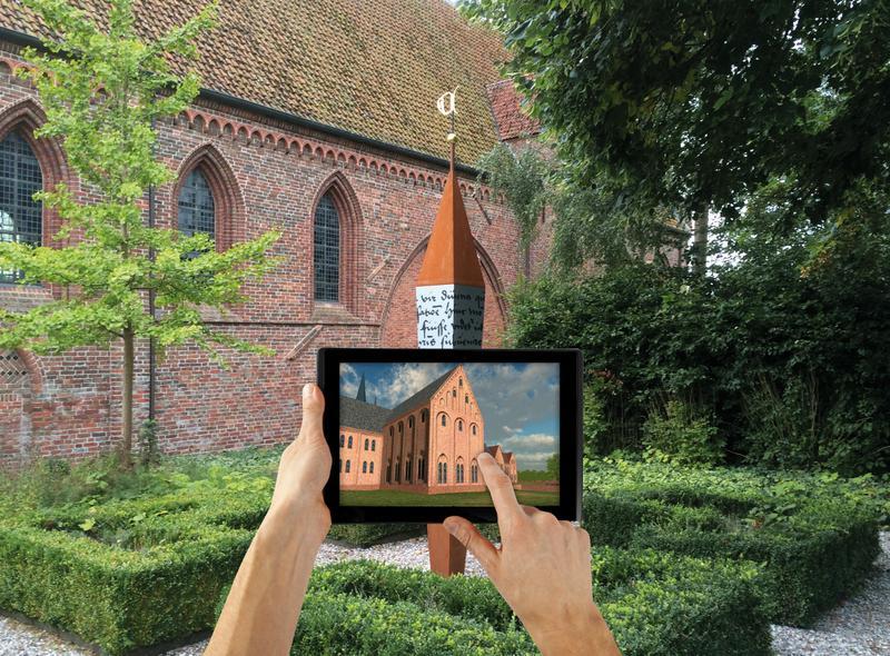 Kloostermuseum aduard 3d-applicatie