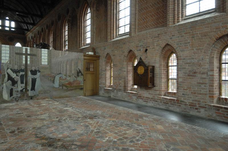 Kloostermuseum aduard abdijkerk voorheen ziekenzaal