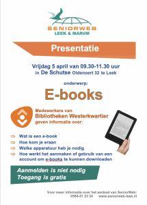 2019-04-05 poster presentatie seniorweb in leek