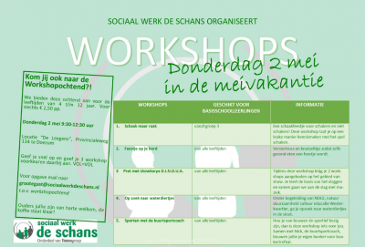 Workshops-de-schans