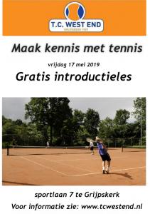 Kennis met tennis