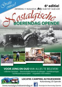 A3 poster nostalgische boerendag 19