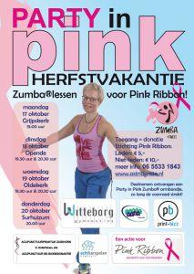 Pink ribbon zumba