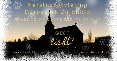 2019 kerstnachtviering zuidhorn