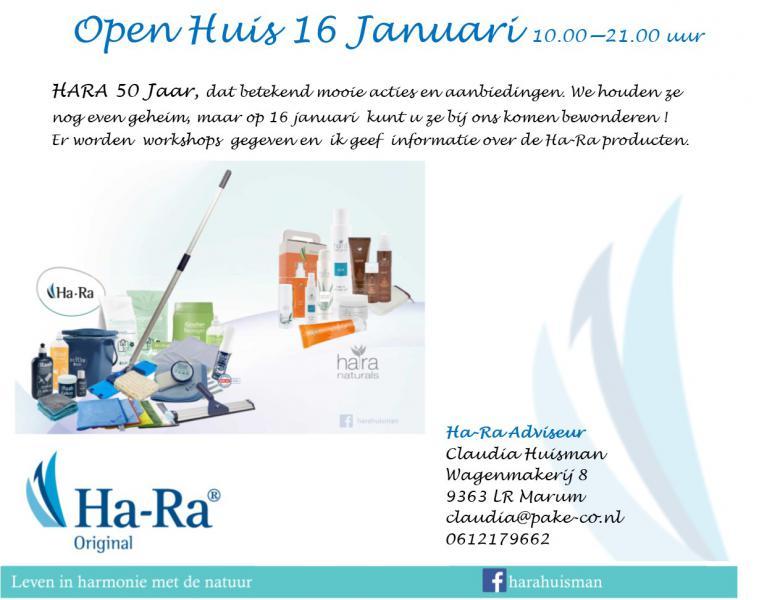 Open huis hara
