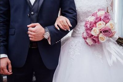 Bruid trouwen