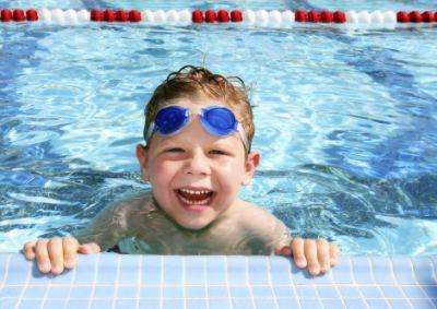 Optisport zwembad-kind