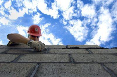 Metselen bouwvakker arbeid